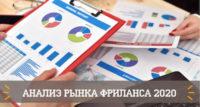 Фриланс в рунете: анализ рынка и тренды 2020